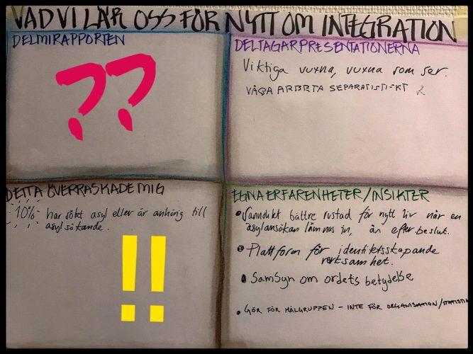 Vad har vi lärt oss för nytt om integration?