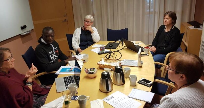 (English) DRW cooperation meeting with Svenska kyrkan