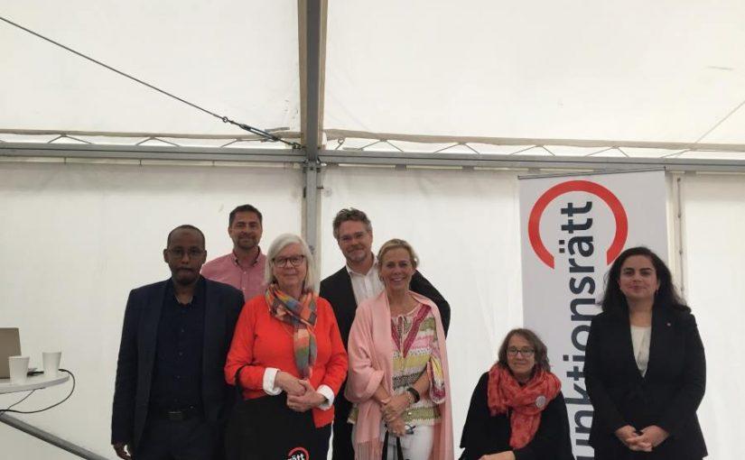 (Svenska) DRW deltog i Funktionsrätt Stockholms Län seminarium under Järvaveckan – Satsa på vår hälsa!