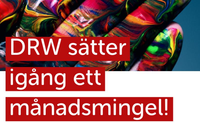 (Svenska) DRWs virtuella måndsmingel ersätts med andra digitala format.