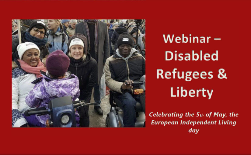 Short on the webinar: Disabled Refugees and Liberty