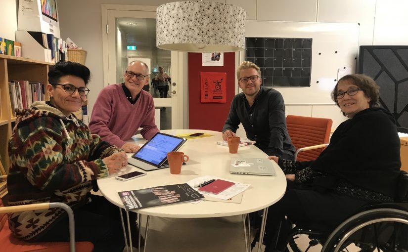 Funktionshindersuppdrag – Länsstyrelsen Stockholm besökte DRW