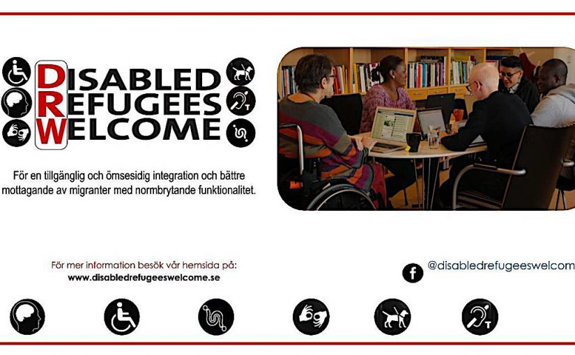 Disabled Refugees Welcome höll sitt första Round Table