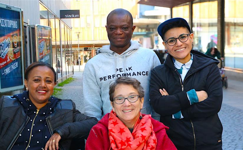 Bild på teamet på Disabled Refugees Welcome