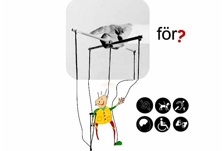 illustration på styrningen av funktionshinderpolitiken som en docka
