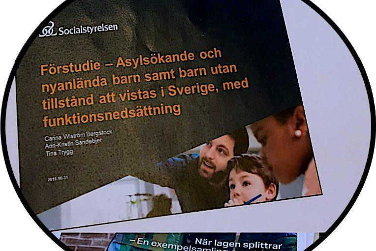 (Svenska) DRW team på Socialstyrelsens hearing om nyanlända barn.